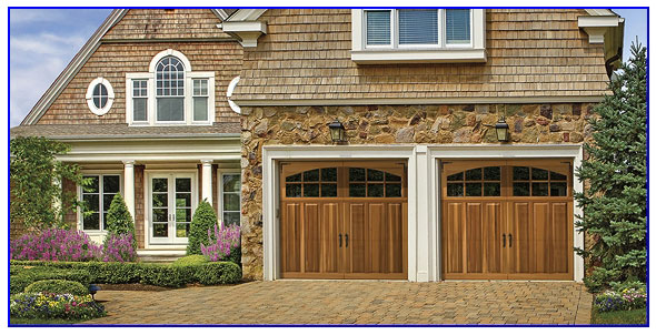 premium wood garage door in Pittsburg ca