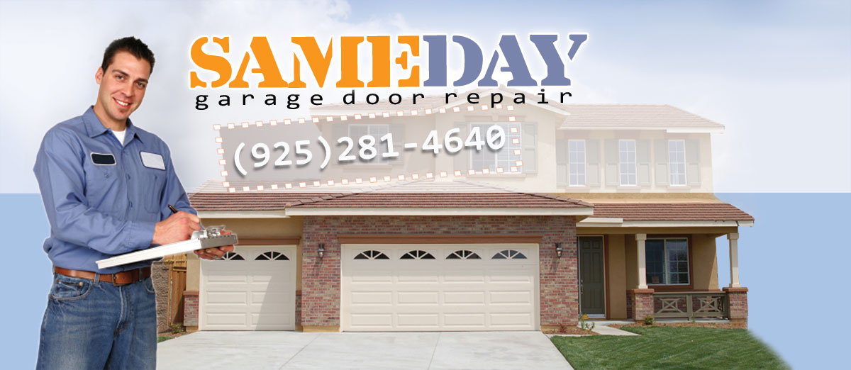 garage door repair in Pittsburg CA